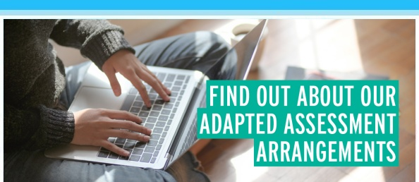 Find Out About Our Adapted Assessment Arrangements
