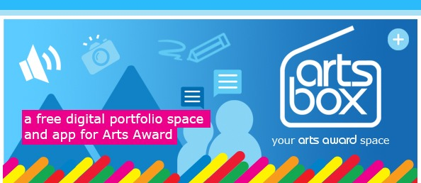 Artsbox - a free digital portfolio space for Arts Award