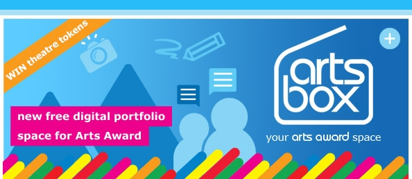 Artsbox - new free digital portfolio space for Arts Award